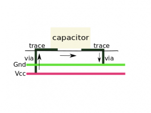 Capacitor Loop Current